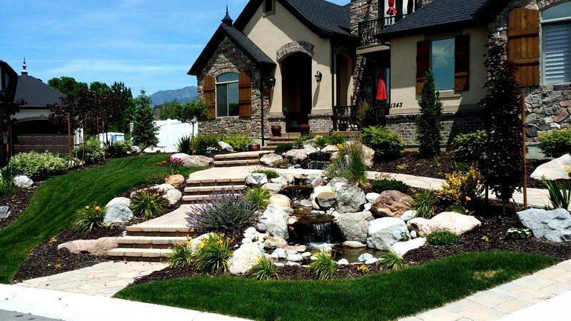 landscape design Salt Lake City